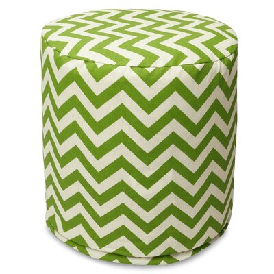 Aspen Small Pouf Fabric: Sage