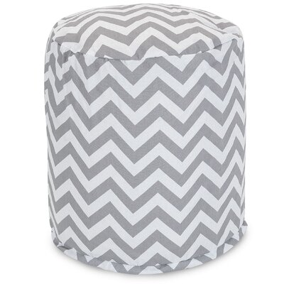Aspen Small Pouf Fabric: Gray