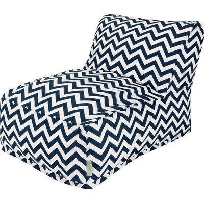 Aspen Bean Bag Lounger Upholstery: Navy
