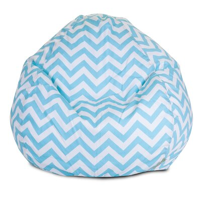Aspen Bean Bag Chair Upholstery: Tiffany Blue