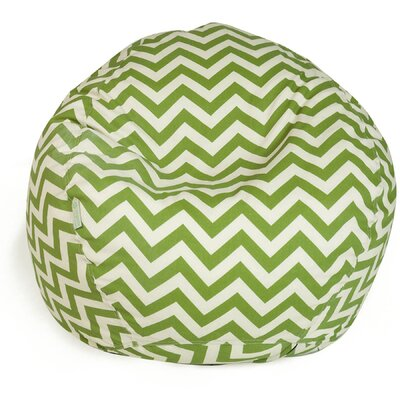 Aspen Bean Bag Chair Upholstery: Sage