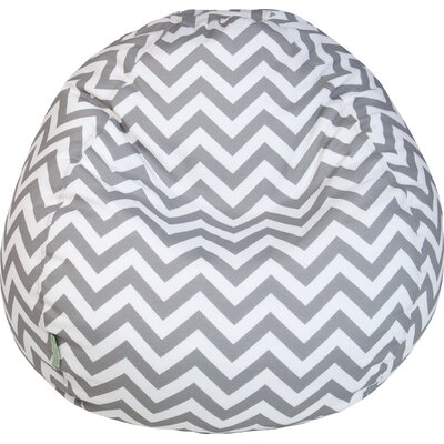 Aspen Bean Bag Chair Upholstery: Gray