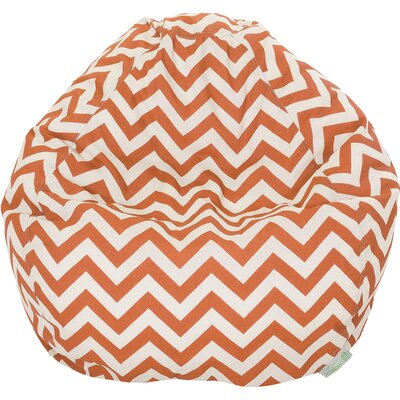 Aspen Bean Bag Chair Upholstery: Burnt Orange
