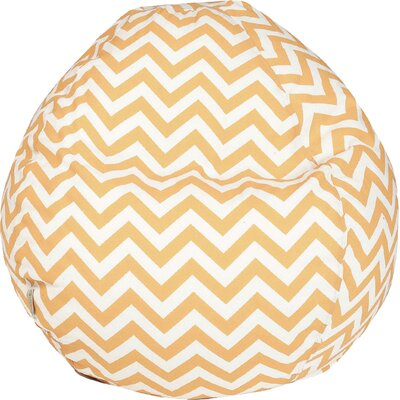 Aspen Bean Bag Chair Upholstery: Yellow