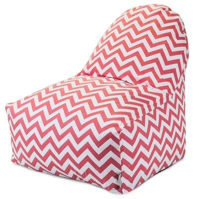 Aspen Bean Bag Lounger Upholstery: Coral
