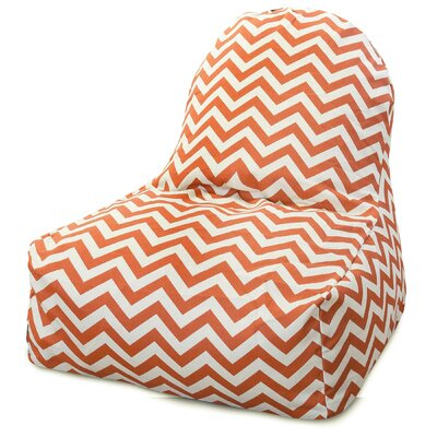 Aspen Bean Bag Lounger Upholstery: Burnt Orange