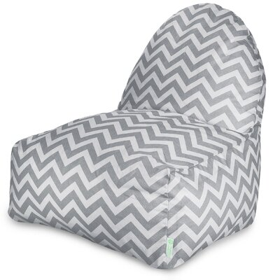 Aspen Bean Bag Lounger Upholstery: Gray