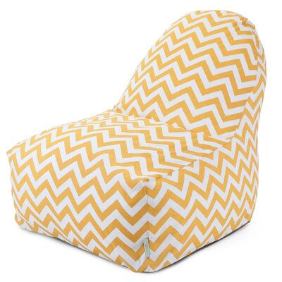 Aspen Bean Bag Lounger Upholstery: Yellow