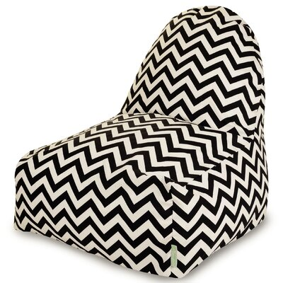 Aspen Bean Bag Lounger Upholstery: Black