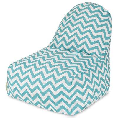 Aspen Bean Bag Lounger Upholstery: Teal