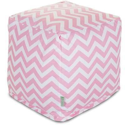 Aspen Small Cube Upholstery: Baby Pink