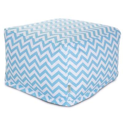 Aspen Pouf Upholstery: Tiffany Blue