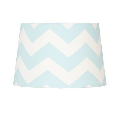 11 Textile Empire Lamp Shade Shade Color: Aqua