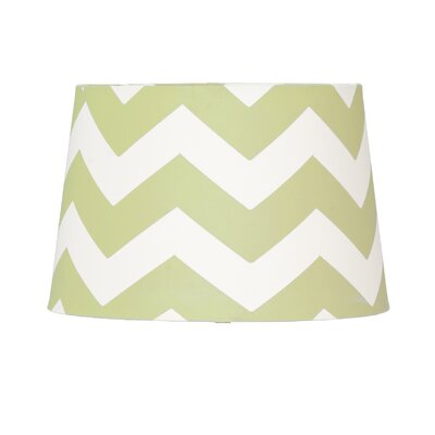 11 Textile Empire Lamp Shade Shade Color: Green