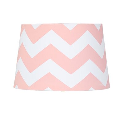 11 Textile Empire Lamp Shade Shade Color: Pink