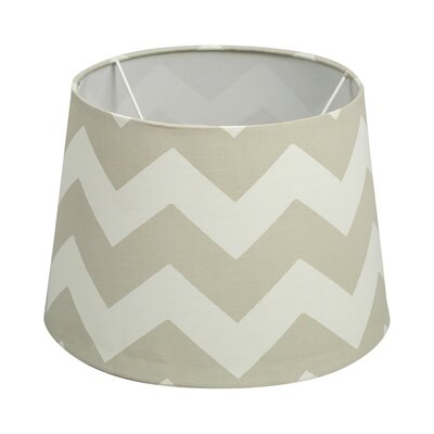 11 Textile Empire Lamp Shade Shade Color: Gray