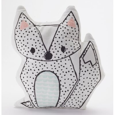 Sparrow Fox Throw Pillow
