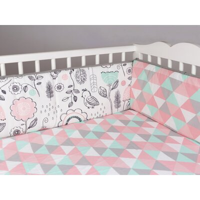 baby gifts store - Lolli Living Sparrow Print Bumper - Cot Bedding Accessories Baby Bedding