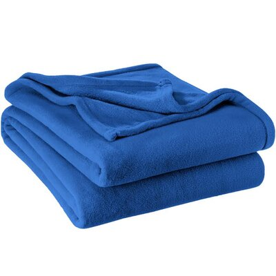 Karlie Ultra Soft Microplush Blanket Size: Full/Queen, Color: Medium Blue