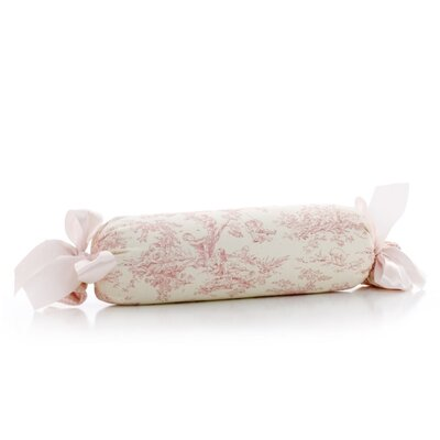 Madelynn Toile Roll Bolster Pillow