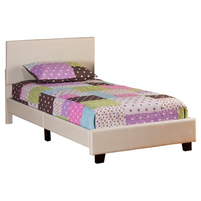 Richard Twin Platform Bed Color: White