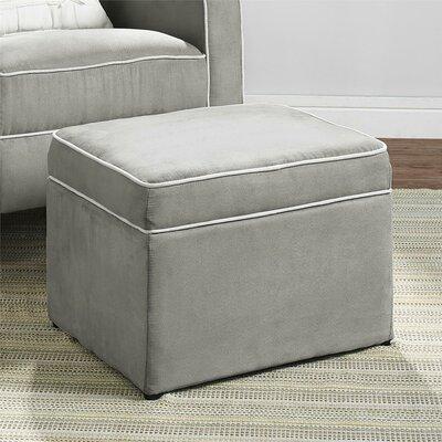 Tammy Storage Ottoman Upholstery: Gray