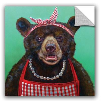 Kyleigh Mama Bear Wall Decal Size: 14'' H x 14'' W x 0.1'' D VVRE2443 38250750