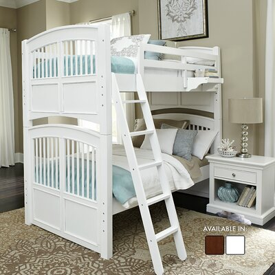 Javin Panel Bed with Exterior Ladder and Trundle