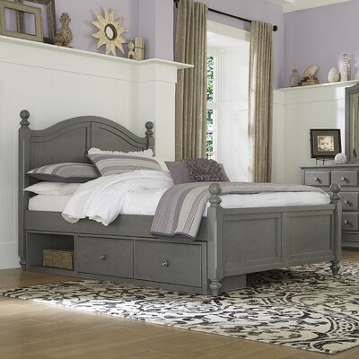 Javin Arch Panel Bed with Large Storage