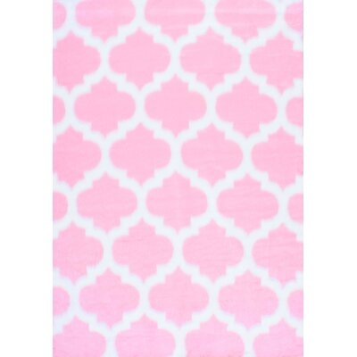 Rosemarie Faux Sheepskin Pink Area Rug Rug Size: Rectangle 5' x 7'