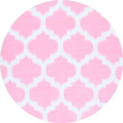 Rosemarie Faux Sheepskin Pink Area Rug Rug Size: Rectangle 7 x 9
