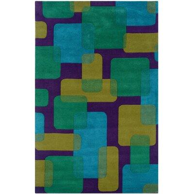 Leanne Purple Geometric Rug Rug Size: 8 x 10