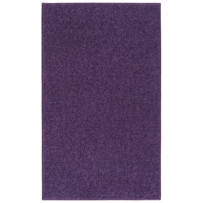 Anika Purple Area Rug Rug Size: 5 x 7