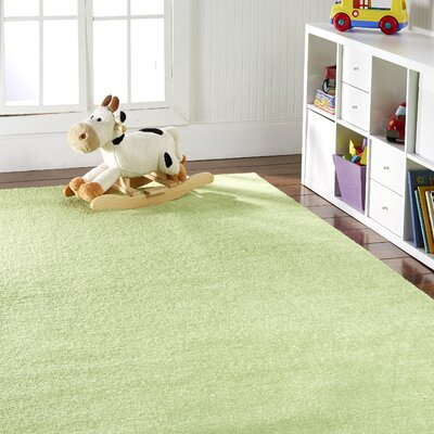 Anika Lemon Lime Green Area Rug Rug Size: 8 x 10