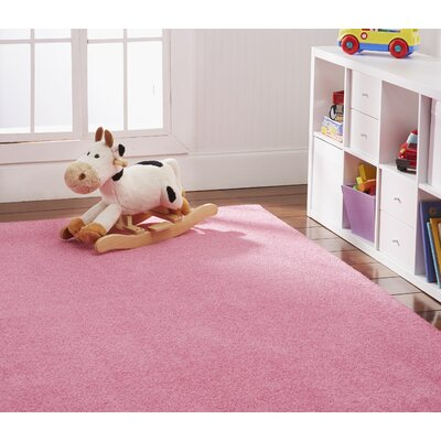 Anika Pink Area Rug Rug Size: Rectangle 7 x 10