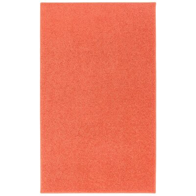Anika Tangerine Orange Area Rug Rug Size: 5 x 7