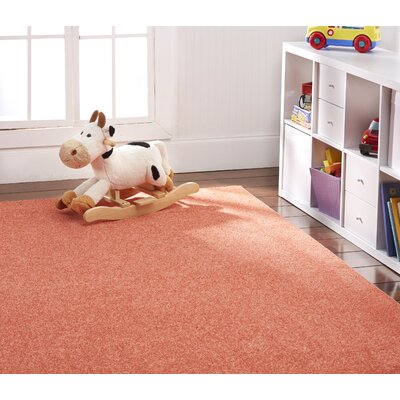 Anika Tangerine Orange Area Rug Rug Size: 6 x 9