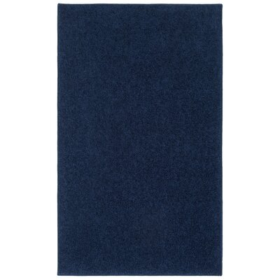 Anika Midnight Navy Blue Area Rug Rug Size: 8 x 10