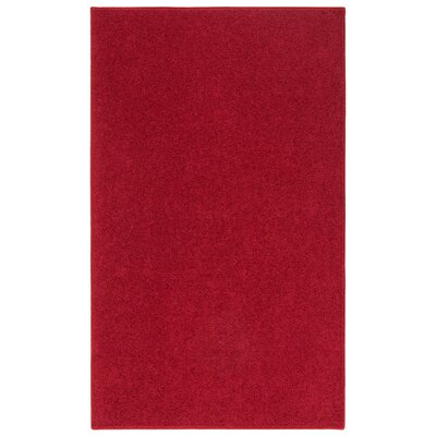 Anika Magna Red Area Rug Rug Size: Rectangle 3 x 5