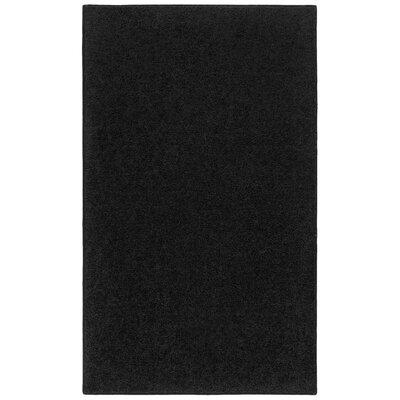Anika Charcoal Black Area Rug Rug Size: 8 x 10