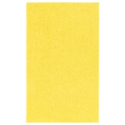 Anika Sunshine Yellow Area Rug Rug Size: 9 x 12