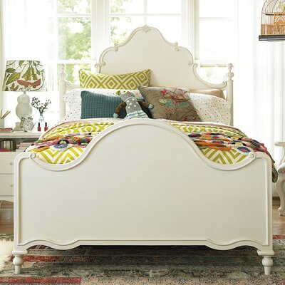 Chassidy Modern Panel Wood Framed Bed