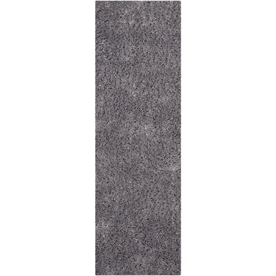 Ariel Gray Area Rug Rug Size: Runner 23 x 8