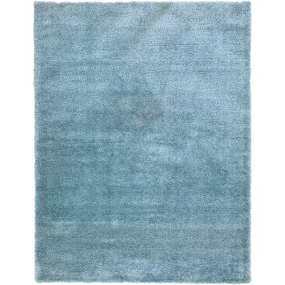 Evelyn Light Blue Area Rug Rug Size: 9 x 12