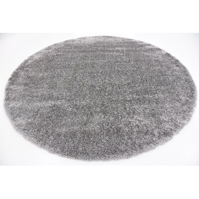 Evelyn Gray Area Rug Rug Size: Square 8