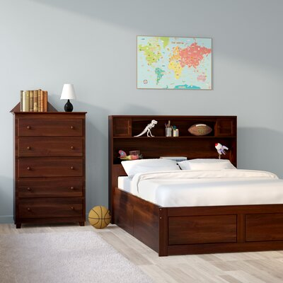 Edwin Platform 2 Piece Bedroom Set Size: Twin, Finish: Espresso