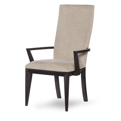 Alysa Upholstered Arm Chair (Set of 2)