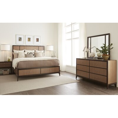 Alysa Urban Rhythm Storage Panel Customizable Bedroom Set