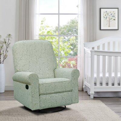 Basil Swivel Recliner Upholstery: Spearmint