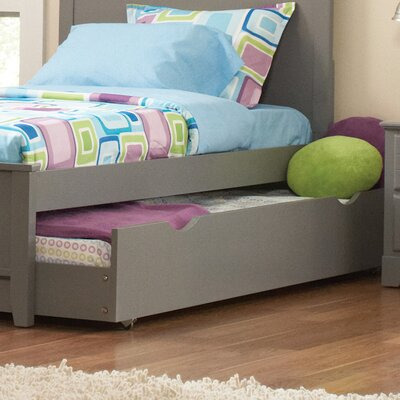 Skylar Trundle Unit Finish: Gray